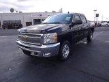 2012 Black Chevrolet Silverado 1500 LT Crew Cab 4x4 #55906181