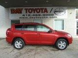 2011 Barcelona Red Metallic Toyota RAV4 V6 4WD #55905881