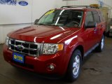 2009 Sangria Red Metallic Ford Escape XLT 4WD #55906389