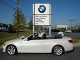 2012 Mineral White Metallic BMW 3 Series 328i Convertible #55906120