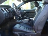 2012 Ford Mustang GT Coupe Charcoal Black Interior