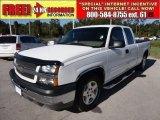 2005 Summit White Chevrolet Silverado 1500 LS Extended Cab #55906341