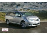 2012 Silver Sky Metallic Toyota Sienna Limited AWD #55905800