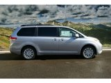2012 Toyota Sienna Limited AWD Data, Info and Specs