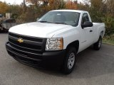 2012 Summit White Chevrolet Silverado 1500 Work Truck Regular Cab 4x4 #55906316