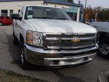 2012 Summit White Chevrolet Silverado 1500 LS Regular Cab 4x4 #55906314