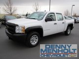 2009 Summit White Chevrolet Silverado 1500 Crew Cab 4x4 #55906274
