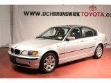2005 Titanium Silver Metallic BMW 3 Series 325i Sedan #55957074