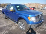 2011 Blue Flame Metallic Ford F150 XLT SuperCrew 4x4 #55956479