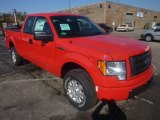 2011 Race Red Ford F150 STX SuperCab 4x4 #55956478