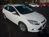 2012 Oxford White Ford Focus SE Sedan #55956475