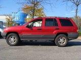 2002 Inferno Red Tinted Pearlcoat Jeep Grand Cherokee Laredo 4x4 #55957051