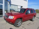 2002 Jeep Grand Cherokee Inferno Red Tinted Pearlcoat