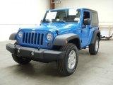 2012 Cosmos Blue Jeep Wrangler Sport S 4x4 #55957034