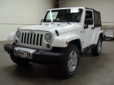 2012 Bright White Jeep Wrangler Sahara 4x4 #55957033