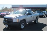 2008 Silver Birch Metallic Chevrolet Silverado 1500 Work Truck Regular Cab #55956714