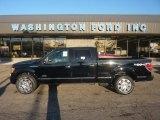 2011 Ebony Black Ford F150 Platinum SuperCrew 4x4 #55956686