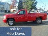 2011 Victory Red Chevrolet Silverado 1500 LS Regular Cab 4x4 #55956373