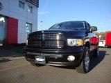 2004 Black Dodge Ram 1500 SLT Sport Quad Cab 4x4 #55956674