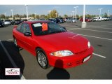 2002 Bright Red Chevrolet Cavalier Coupe #55956296