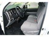 2012 Toyota Tundra Double Cab 4x4 Graphite Interior