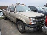 2005 Sandstone Metallic Chevrolet Silverado 1500 Z71 Extended Cab 4x4 #55956281