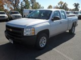2012 Silver Ice Metallic Chevrolet Silverado 1500 Work Truck Extended Cab #55956902
