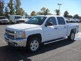 2012 Summit White Chevrolet Silverado 1500 LT Crew Cab #55956900
