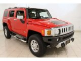 2009 Victory Red Hummer H3  #55956858