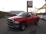 2005 Flame Red Dodge Ram 1500 ST Regular Cab 4x4 #55956561