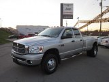 2008 Bright Silver Metallic Dodge Ram 3500 Big Horn Edition Quad Cab 4x4 Dually #55956559