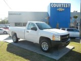 2012 Summit White Chevrolet Silverado 1500 Work Truck Regular Cab #56014276