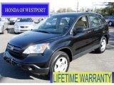 2008 Nighthawk Black Pearl Honda CR-V LX 4WD #56013540