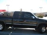 2002 Onyx Black Chevrolet Silverado 1500 LS Extended Cab 4x4 #56013898