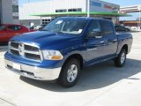 2011 Deep Water Blue Pearl Dodge Ram 1500 SLT Crew Cab 4x4 #56013896