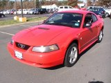 2002 Torch Red Ford Mustang V6 Coupe #56013503