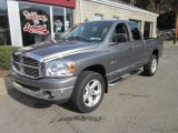 2008 Mineral Gray Metallic Dodge Ram 1500 Big Horn Edition Quad Cab 4x4 #56013865