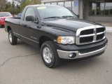 2004 Black Dodge Ram 1500 SLT Regular Cab 4x4 #56013849