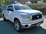 Super White Toyota Tundra in 2008