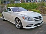 2012 Diamond White Metallic Mercedes-Benz CL 550 4MATIC #56013371