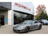 2012 Meteor Grey Metallic Porsche 911 Carrera 4 GTS Cabriolet #56014030