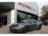 2012 Meteor Grey Metallic Porsche 911 Carrera GTS Coupe #56014025