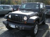 2012 Black Jeep Wrangler Sport S 4x4 #56013325
