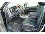 2012 Toyota Tundra Platinum CrewMax 4x4 Black Interior
