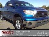 2007 Blue Streak Metallic Toyota Tundra SR5 Double Cab #56013996