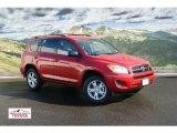 2011 Barcelona Red Metallic Toyota RAV4 V6 4WD #56013270
