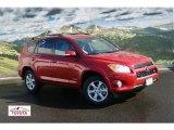 2011 Barcelona Red Metallic Toyota RAV4 V6 Limited 4WD #56013269