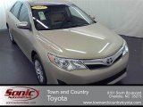 2012 Sandy Beach Metallic Toyota Camry LE #56013988