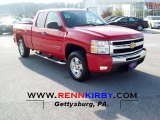 2011 Victory Red Chevrolet Silverado 1500 LT Extended Cab 4x4 #56013941