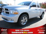 2012 Bright Silver Metallic Dodge Ram 1500 Express Quad Cab #56013611